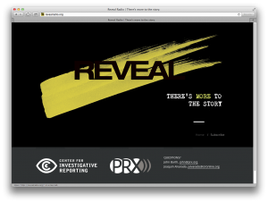 Reveal website